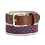 Club Room Mens Lobster Webbing Belt