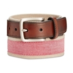Club Room Mens Chambray Woven Belt