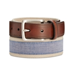 Club Room Mens Chambray Belt