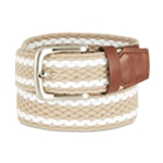 Club Room Mens Stretch Elastic Braided Belt