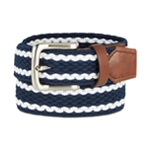 Club Room Mens Stretch Braided Belt