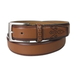 Tasso Elba Mens Feather Edge Belt