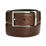 Ryan Seacrest Mens Embossed Belt