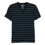 Ecko Unltd. Mens Neon Stripe V Neck Henley Shirt
