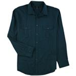 Alfani Mens Long Sleeve Warren Button Up Shirt