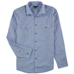 Alfani Mens Warren Long Sleeve Button Up Shirt