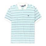 Chaps Mens Striped Pique Rugby Polo Shirt