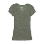 Ecko Unltd. Womens Heathered Vnk Basic T-Shirt