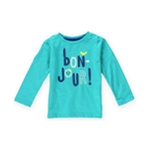 Gymboree Girls Bon Jour Embellished T-Shirt