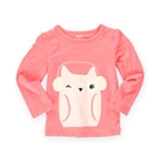 Gymboree Girls Earmuff Kitty Embellished T-Shirt