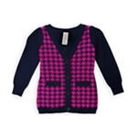 Gymboree Girls Houndstooth Cardigan Sweater