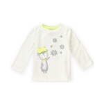 Gymboree Girls Snow Cub Embellished T-Shirt