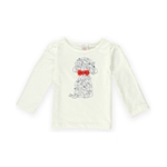 Gymboree Girls Puppies Bow Graphic T-Shirt
