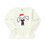 Gymboree Girls Puppy Tunic Embellished T-Shirt