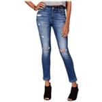 M1858 Womens Kristen Ripped Skinny Fit Jeans