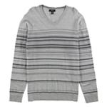 Alfani Mens Striped Knit Sweater
