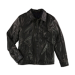 Tommy Hilfiger Womens Full Zip Motorcycle Jacket