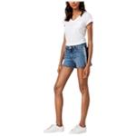 Joe's Womens Ozzie Side Stripe Casual Denim Shorts