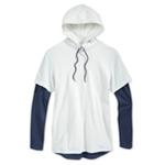 American Rag Mens 2-Tone Hoodie Sweatshirt