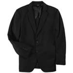Alfani Mens Travel Essential Two Button Blazer Jacket