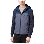 American Rag Mens Colorblocked Quilted Jacket