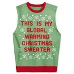 American Rag Mens Global Warning Sweater Vest