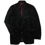 Alfani Mens Red Velvet Two Button Blazer Jacket