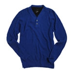 bar III Mens V-neck Faux Lined Knit Sweater
