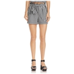 Joie Womens Gingham Casual Walking Shorts