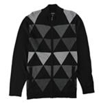 Alfani Mens Triangle Cardigan Sweater
