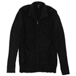 Alfani Mens Chenille Cardigan Sweater