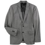 Alfani Mens Marl-Knit Two Button Blazer Jacket