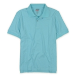 IZOD Mens Athletic Basix Cool-fit Rugby Polo Shirt
