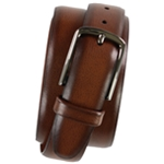 Perry Ellis Mens Cracked Belt