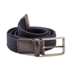 Perry Ellis Mens Webbed Woven Belt