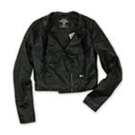 Ecko Unltd. Womens P/u Quilted Jkt Motorcycle Jacket