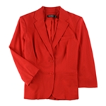 Ralph Lauren Womens Twill Two Button Blazer Jacket