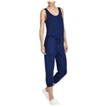 Ralph Lauren Womens Waist-Tie Jumpsuit