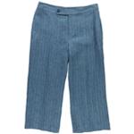 Ralph Lauren Womens Striped Casual Wide Leg Pants
