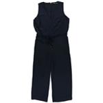 Ralph Lauren Womens Wide-Leg Jumpsuit