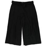 Ralph Lauren Womens Belted Wide-Leg Culotte Pants