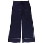 Ralph Lauren Womens Contrast Casual Wide Leg Pants