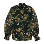 Ralph Lauren Womens Floral print Pullover Blouse