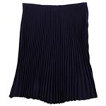 Ralph Lauren Womens Georgette Pleated Skirt