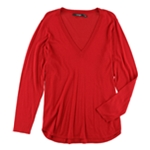 Ralph Lauren Womens Plus Size Silk V-Neck Pullover Sweater