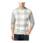 Club Room Mens Buffalo Plaid Pullover Sweater