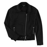 Ralph Lauren Womens Neoprene Motorcycle Jacket