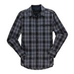 I-N-C Mens Soft Plaid Button Up Shirt