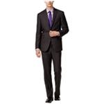 Kenneth Cole Mens Slim fit plaid Two Button Suit