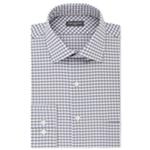 Van Heusen Mens Wrinkle-Free Flex Collar Button Up Dress Shirt